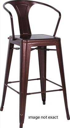 Chintaly 8020BSWHT 8020 Series Residential Not Upholstered Bar Stool