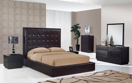 Global Furniture USA METROCHOCQB6GRP Metro Queen Bedroom Set