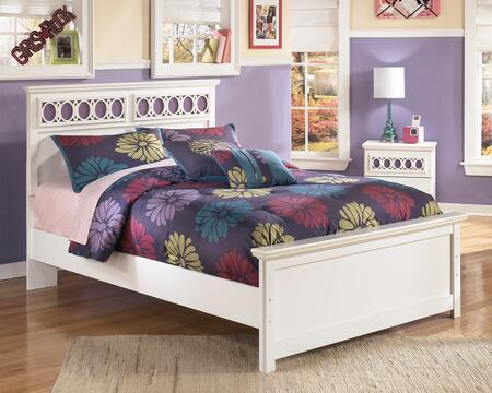 Milo Italia BR-205BED Mendoza Collection X Size Panel Bed: White