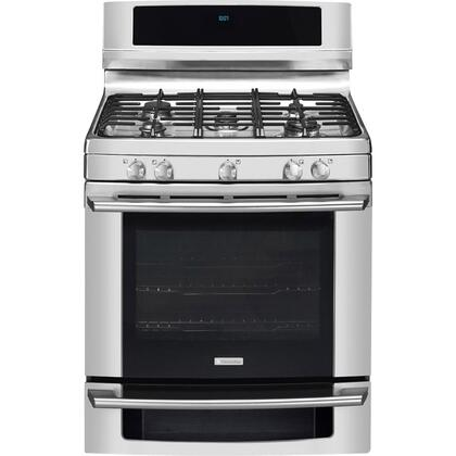 "Electrolux EW30GF65GS 30"" Wave-Touch Series Gas Freestanding"