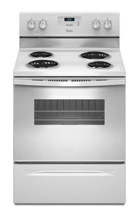 "Whirlpool WFC130M0AW 30"" Electric Freestanding"