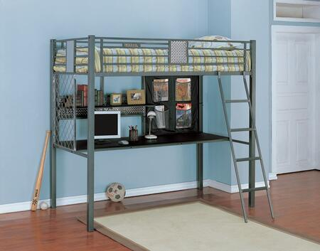 Powell 500119 Monster Bedroom Series  Twin Size Bed