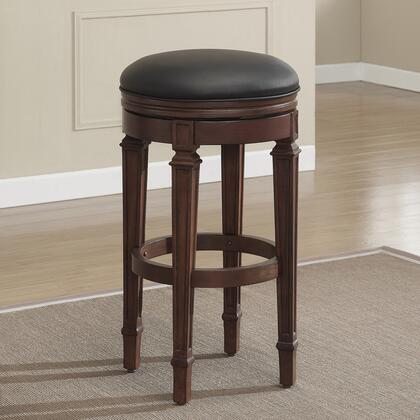 American Heritage 100629SD Residential Leather Upholstered Bar Stool