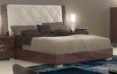 ESF Prestige Deluxe i758-X Bed in Cognac Birch Finish