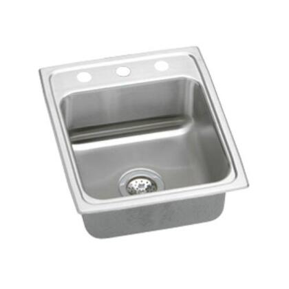 "Elkay LR17200 17"" Top Mount 18-Gauge Single Bowl Stainless Steel Sink"