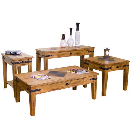 Sunny Designs 3160ROCSKIT1 Sedona Living Room Table Sets