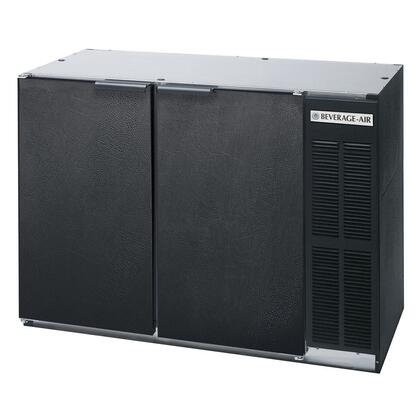 "Beverage-Air BB48Y1 48"" Back Bar Cooler with 12.1 Cu. Ft. Capacity, Heavy Duty Construction, LED Lighting Standard, R134a Refrigerant, Self-Closing Doors with Gaskets, and 1/4 HP:"