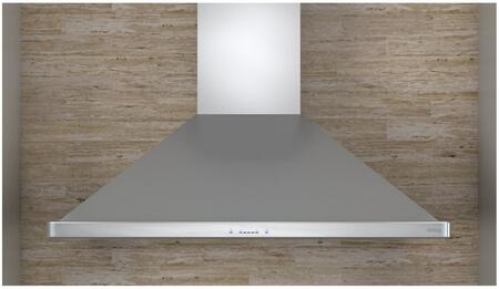 Zephyr ZSLExBS Siena Pro Island Mount Range Hood with 1200 CFM Blower, Icon Touch Controls, Unique Quick Lock Installation System and Easy Installation in Stainless Steel