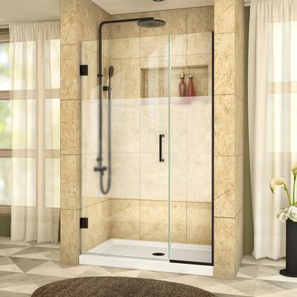DreamLine UnidoorPlus Shower Door RS39 30 14IP 09 B HFR