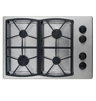 Dacor SGM304SLP Classic Series Liquid Propane Sealed Burner Style Cooktop, in Stainless Steel
