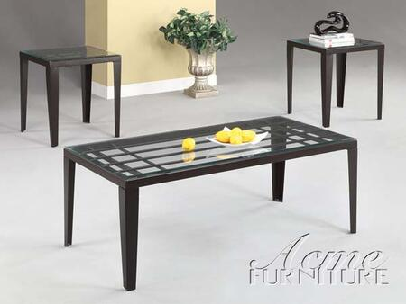 "Acme Furniture 18474 48"" Contemporary Living Room Table Set"