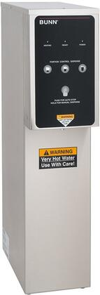 Bunn-O-Matic 39100000 Dual Volt Portion Control Hot Water Dispenser with 3 Dispense Volume Options, Stainless Design, Precise Temperature and Plumbed Water Access, in Stainless Steel