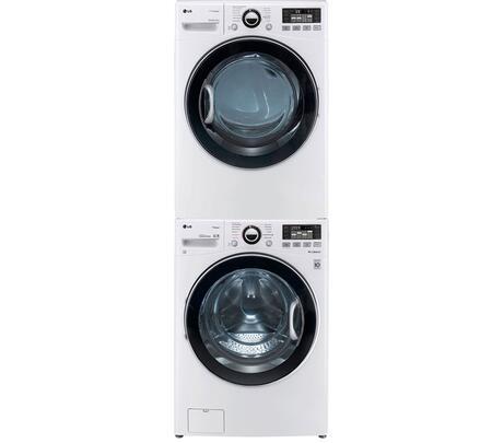 LG WM3470HWASTKPAIR1 TurboWash Washer and Dryer Combos