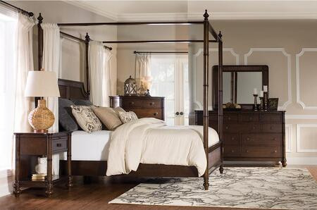 Powell 14BO7024PW4PCKCNMDDLM1DNKIT1 Passages King Bedroom Se