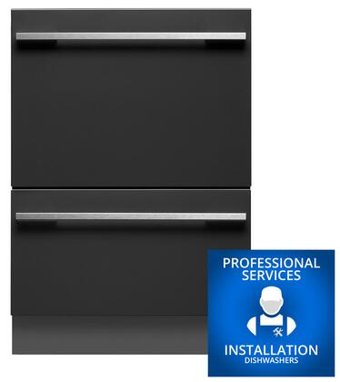 Fisher Paykel DD24DTI7INSTALL Built-In Dishwashers