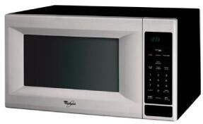 """Whirlpool MT4155SPS Counter Top 1.5 cu. ft. Capacity No 21 7/8"""" Countertop Microwave 