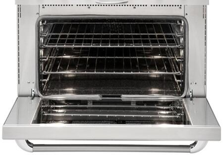 "Capital MCR366 36"" Gas Convection Range with 6 Sealed Burners, 4.9 cu. ft. Oven Capacity, Infrared Broil Burner, Convection Bake and Manual Clean, in"