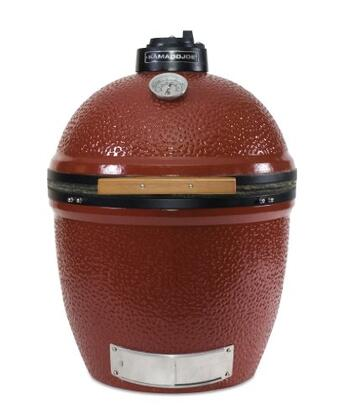 Kamado Joe KJ23NR All Refrigerator Charcoal Grill, in Red