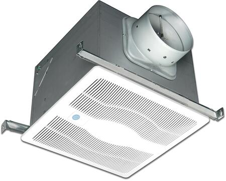 Air King ExSG Exhaust Fan with x CFM, Motion Sensor, 23 Gauge Galvanized Steel Housing, and Polymeric Grill, in White