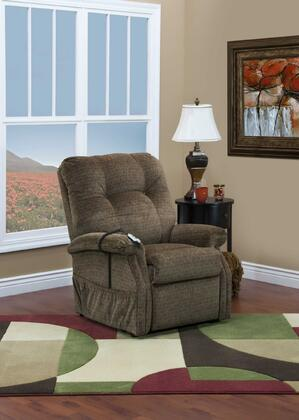 MedLift 5153CAH Contemporary Fabric Wood Frame  Recliners
