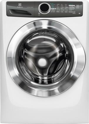 "Electrolux EFLS517S 27"" Energy Star Front-Load Washer with 4.3 cu.ft. Capacity. Perfect Steam, LuxCare Wash System, Sanitize Option and StainTreat:"