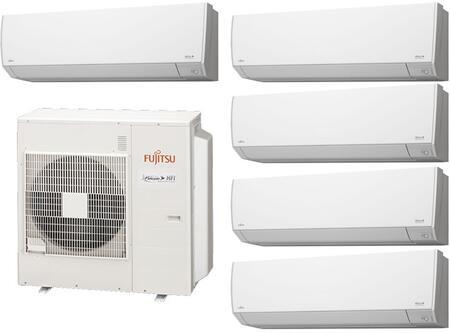 Fujitsu 935439 Halcyon 5 Zone Mini Split Air Conditioners