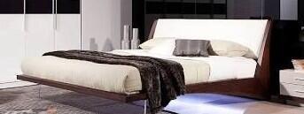 VIG Furniture VGWCSGB01Q Modrest Volterra Series  Queen Size Platform Bed