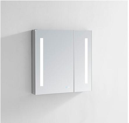 """Aquadom Signature Royale SRXX30 W x 30"""" Medicine Cabinet with Interior LED Light With Sensor, Touch Screen Buttons for On/Off, Adjustable Dimmer and Defogging Heated Glass"""