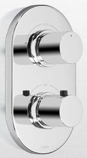 Toto TS794D#PN Nexus Brass Thermostatic Mixing Valve Trim