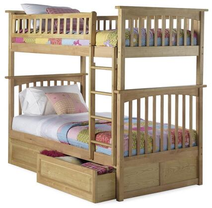 Atlantic Furniture AB55125  Twin Size Bunk Bed