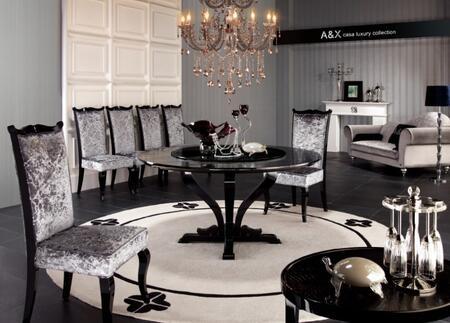 VIG Furniture VGUNAC8361505PCSET Armani Xavira Dining Room T