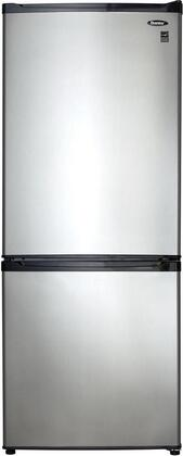 "Danby DFF092C1 24"" Bottom Freezer Refrigerator with 9.2 cu. ft. Capacity, 2 Adjustable Glass Shelves, 1 Vegetable Crisper with Glass Cover, 3 Door Bins, 1 CanStor Beverage Dispenser, and Energy Star"