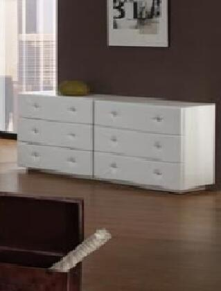 VIG Furniture MELODYWHTDR  Wood Dresser
