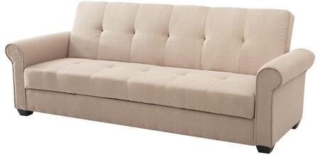 Glory Furniture G153S Buxton Series Convertible Fabric Sofa