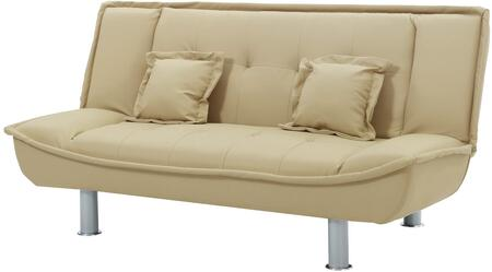 Glory Furniture G606S G600 Series Convertible Bycast Leather Sofa