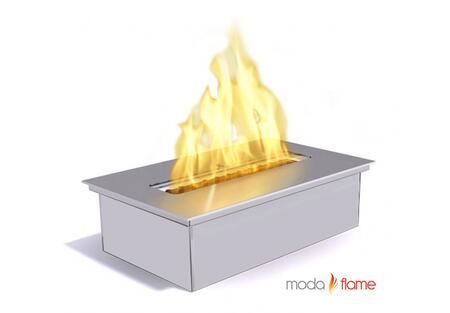 Moda Flame GFB40X X Liter Indoor Outdoor Gel Fuel Ethanol Fireplace Burner Insert with