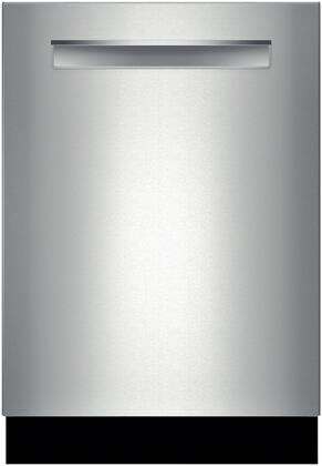"""Bosch Benchmark SHP7PT55UC 24"""" Built In Fully Integrated Dishwasher with 3rd Rack, 16 Place Settings Place Settingin Stainless Steel"""