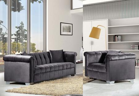 Meridian 6152PCARMKIT2 Kayla Living Room Sets