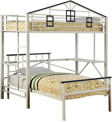 Furniture of America CMBK933L Fortress Series  Twin Size Bed