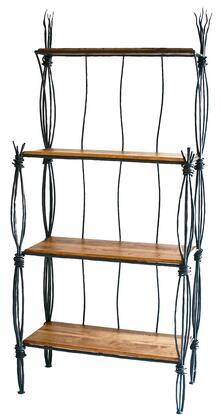 Stone County Ironworks 903-236 Rush Bakers Rack 4-Tier