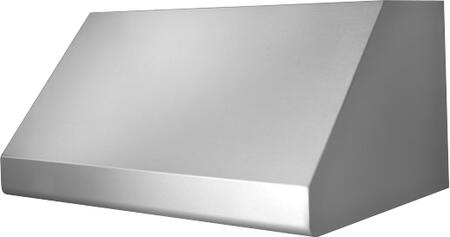 Prizer Hoods INCL Incline Wall Mount Hood with Seamless Construction, 3-Speed Control, Halogen Lighting, High Heat Sensor and Baffle Filter, in Stainless Steel