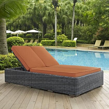 """Modway EEI1994GRYTUS 80"""" Water Resistant Lounge Chair"""