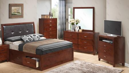 Glory Furniture G1200BKSBDMTV G1200 Bedroom Sets