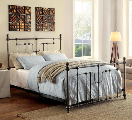 Furniture of America CM7717EK Elysia Series  King Size Bed