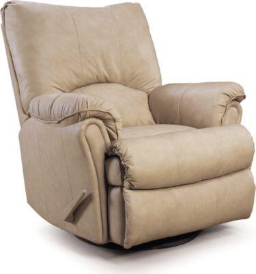 Lane Furniture 205327542717 Alpine Series Transitional Leather Wood Frame  Recliners