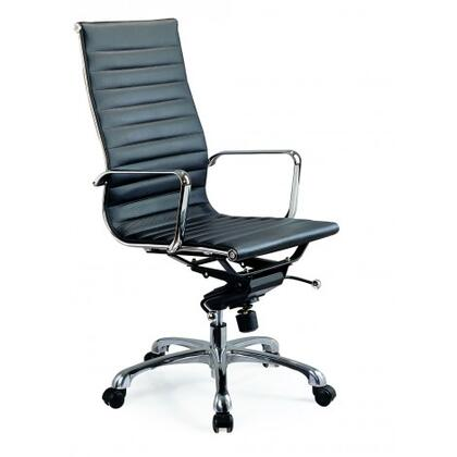 jandm furniture 17660 comfy high back office chair black 3