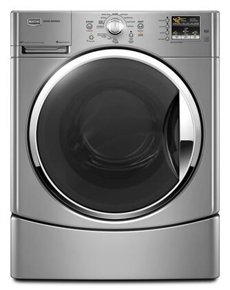 Maytag MHWE251YL Performance Series 3.5 cu. ft. Front Load Washer, in Silver