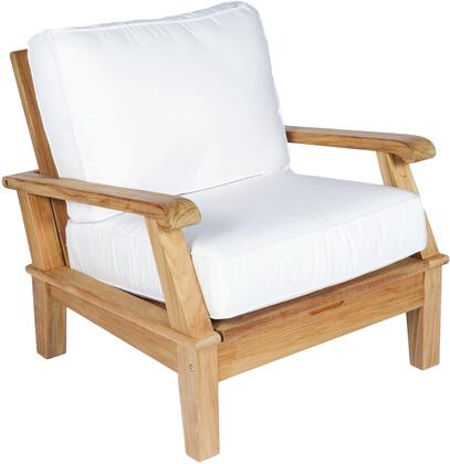 Royal Teak Collection MIACHX Miami Chair with Cushions