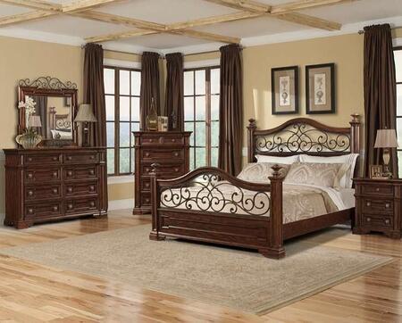 Klaussner 872050DMCNS San Marcos Queen Bedroom Sets