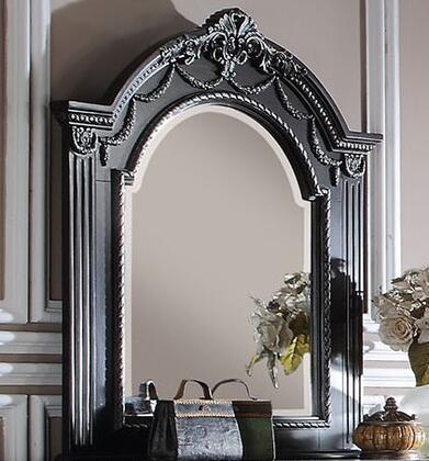 Acme Furniture 20924 Athena Silver Series Rectangle Portrait Dresser Mirror